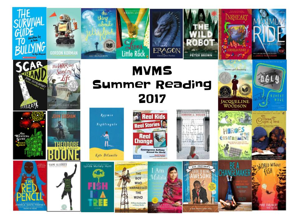 Summer Reading Covers