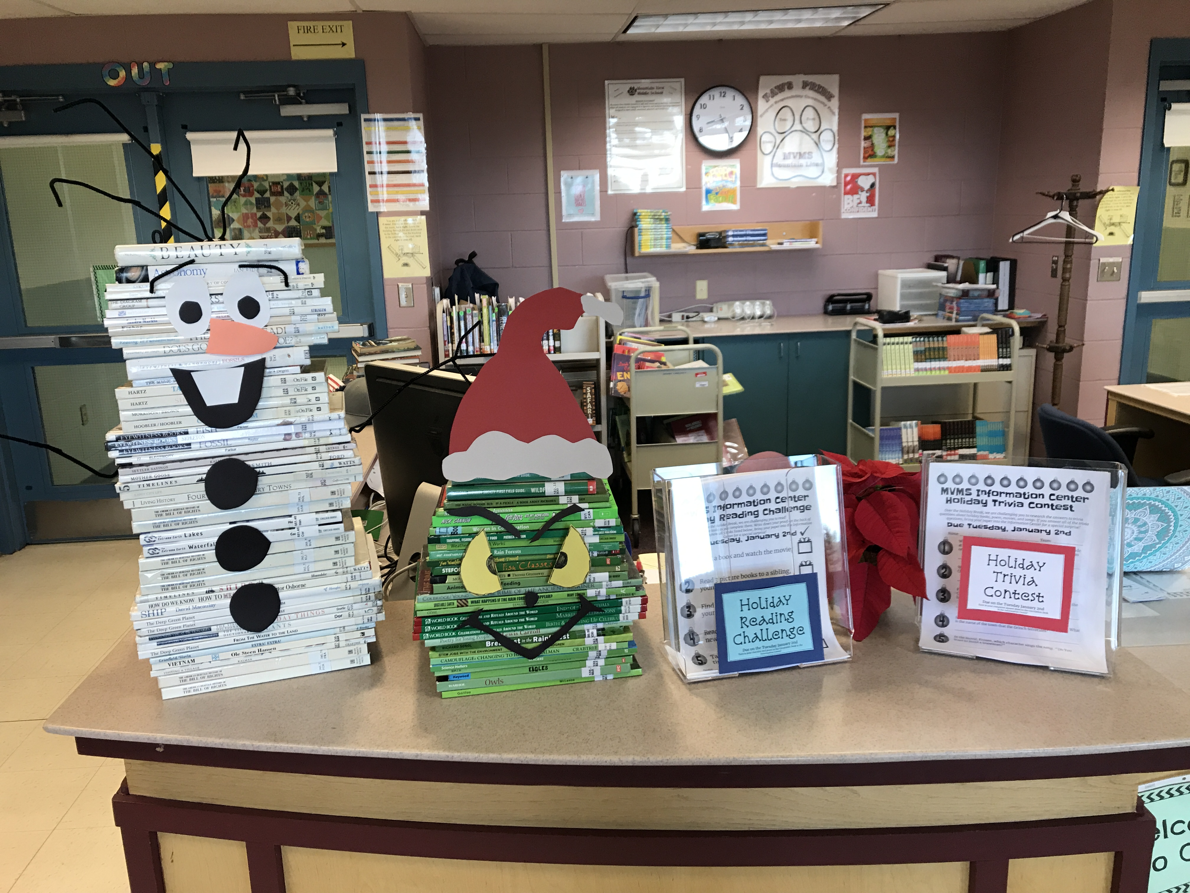 Holiday Challenges Display